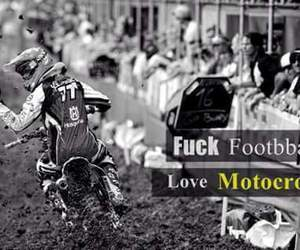 football, motocross, and motors image