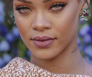 rihanna, eyes, and beauty image