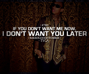 tyga, quote, and text image