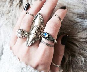 rings, fashion, and grunge image