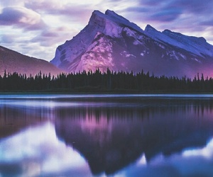 mountains, lake, and nature image
