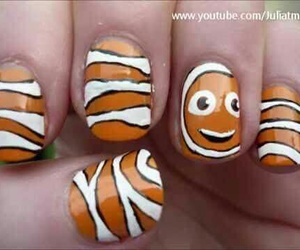 nails, clownfish, and finding nemo image