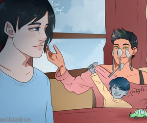 little one, mortal instruments, and magnus bane image
