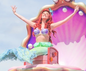 ariel, disney, and face character image