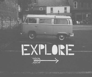 explore, travel, and vintage image