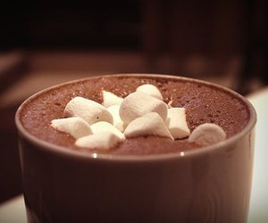 chocolate, marshmallow, and hot ​chocolate image