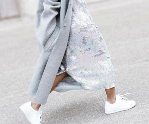 fashion, girl, and glitter image