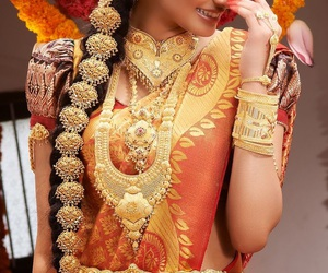 accessoires, gold, and indian image