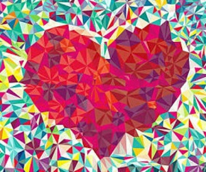heart, colors, and red image