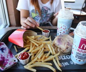 food, McDonalds, and quality image
