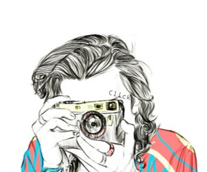 Harry Styles, one direction, and camera image