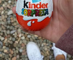 food, happy, and kinder image