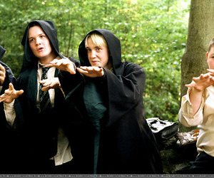 draco malfoy, harry potter, and lort¨¨ image