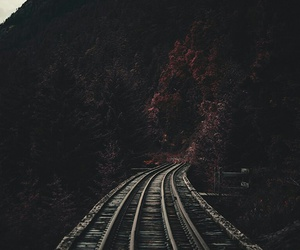 follow, road, and train image