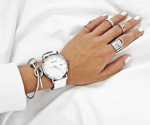 fashion, white, and nails image