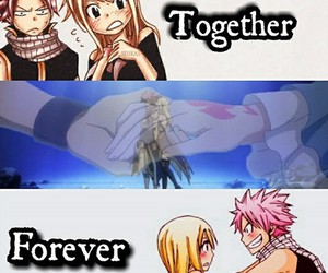Lucy, natsu, and fairy tail image