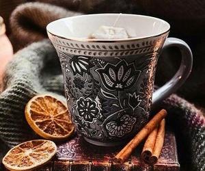 tea, winter, and autumn image