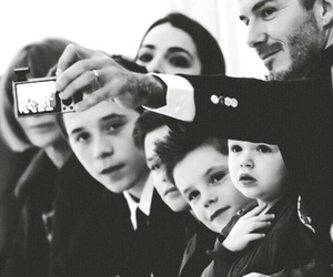 David Beckham, beckham, and family image