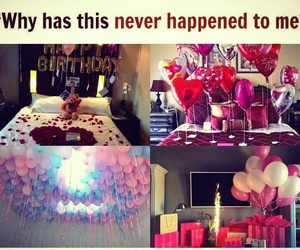 balloons, glitter, and goals image