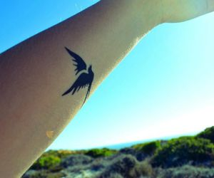 freedom, tattoo, and whimsical image