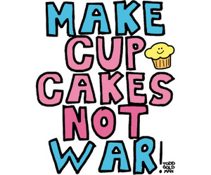 cupcake and war image