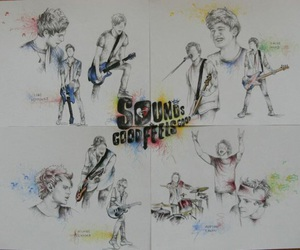 5sos art and sounds good feels good image