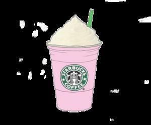starbucks, pink, and tumblr image