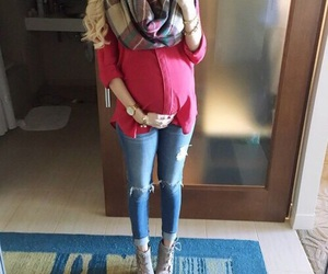baby, fashion, and pregnancy image