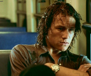 heath ledger and two hands image