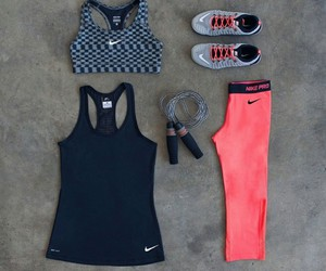 athletic, nike, and fitness image