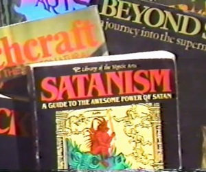 satan, aesthetic, and book image