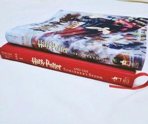 books, hogwarts, and reading image