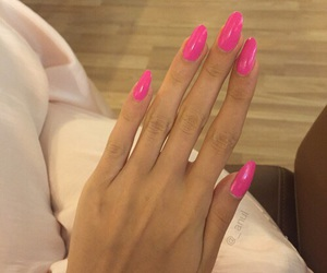 nails, fashion, and long nails image