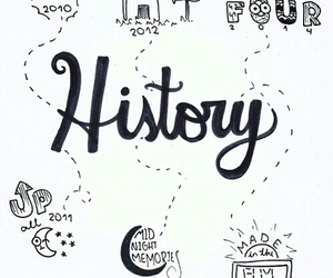 one direction, history, and niall horan image