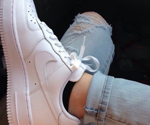 jeans, nike, and grunge image