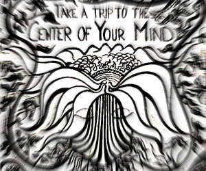 mind, trip, and trippy image