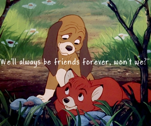 copper, the fox and the hound, and friends image