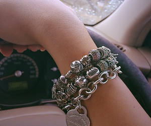 bracelet, tiffany, and pandora image
