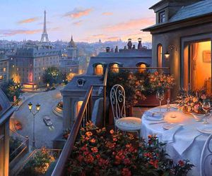 paris, city, and romantic image