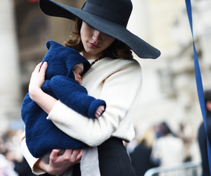 baby, fashion, and hat image