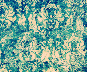blue, vintage, and wallpaper image