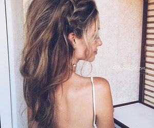 amazing, girl, and hairstyle image