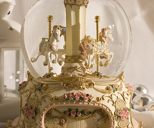 carousel and vintage image