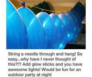 diy, balloons, and ideas image
