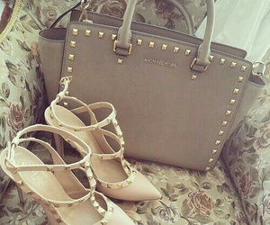 bag, shoes, and heels image