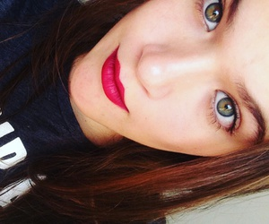 greeneyes, redlips, and labiosrojos image