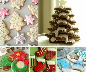 christmas, christmas tree, and gingerbread image