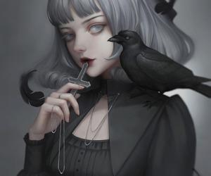 dark, art, and gothic image
