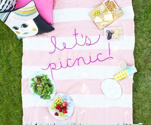 food, happy, and picnic image