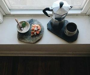 breakfast, coffee, and toast image